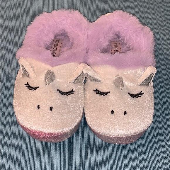 Tucker Tate Unicorn Toddler Slippers